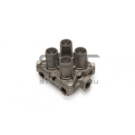 Клапан тормозной 4-х контурный TATA 613 263243700155