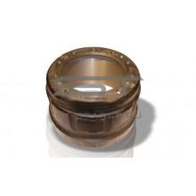 Барабан тормозной SHAANXI F2000 задний D-420 d-282 H-285 10 отв CAMC 99112340006