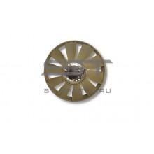 Вентилятор D12 с гидромуфтой (10 лопастей с кольцом) 704 HOWO A7 VG1246060030