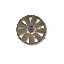 Вентилятор D12 с гидромуфтой (9 лопастей с кольцом) 758 HOWO A7 VG1246060051