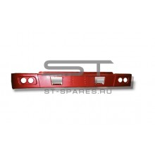 Бампер металлический красный HOWO WG1641240001