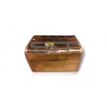 Бак топливный 400 л квадратный алюминий SHACMAN DZ9114552790/AL