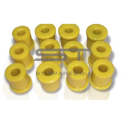 Втулка ушка рессоры передней задней пластик Foton 1039 1102229200007