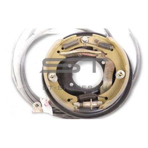 Задний тормоз в сборе левый Foton 1041 1049A 3502100-HF15015FT