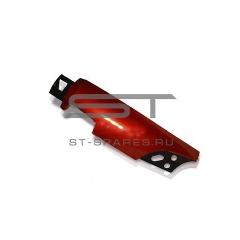Обтекатель кабины левый КРАСНЫЙ Foton 1093 1099 1B22053100024 RED