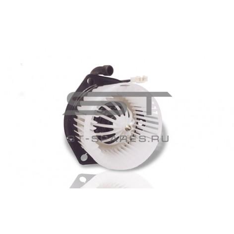 Мотор отопителя 12V в сборе с крыльчаткой Foton 1039 1049C 1B18081100010-1