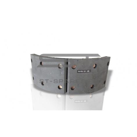 Колодка тормозная передняя 1шт Foton 1163 3501N-101