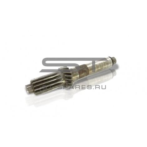 Вал промежуточный КПП голый Foton 1051 1061 651-2011