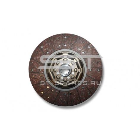 Диск сцепления ведомый 350мм Euro-3 Foton 1041 1069 1089 1093 5122 T858030001