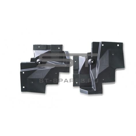 Брызговик кабины передний левый передняя часть Foton 1093 1099 1B22084300023