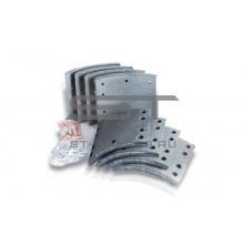 Накладки тормозные задние (к-т на ось) RANGER HINO ANL-8451R