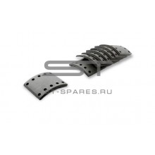 Накладки тормозные задние HINO 700 (на ось) NT406-2160-N007