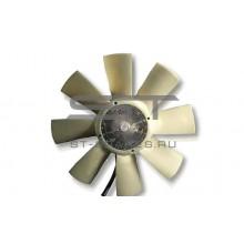 Вискомуфта вентилятора в сборе с крыльчаткой ISUZU NPR75/FSR90/NQR90 8981901481