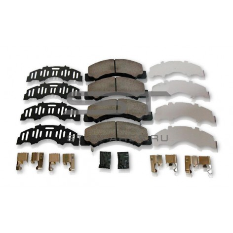 Колодки ISUZU NLR85 тормозные передние 8980912710 8982169210
